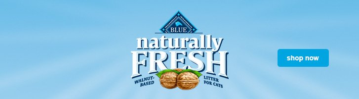Blue Naturally Fresh Hero Image
