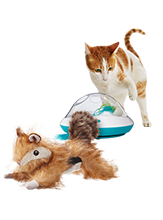 Leaps & Bounds dog and cat toys