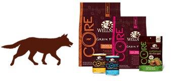 Dog core dog product