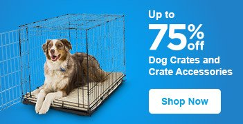Up to 75% off Dog Crates and Crate Accessories - Shop Now