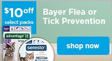 Bayer Flea or Tick Prevention - shop now