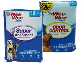 Wee-Wee Pads - Super Absorbent & Odor Control