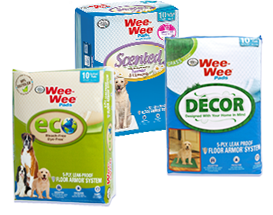 Wee-Wee Pads - Eco, Scented, & Decor