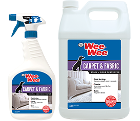 Wee-Wee Carpet & Fabric Stain & Odor Destroyer