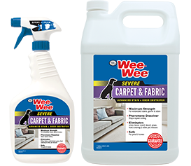 Wee-Wee Carpet & Fabric Severe Stain & Odor Destroyer