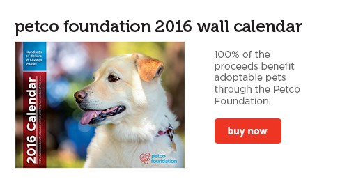 2016 Petco Foundation Calendar - shop now