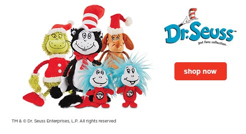 Dr. Seuss™ pet fans collection  - shop now