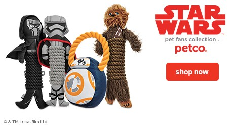 STAR WARS™ pet fan collection - shop now