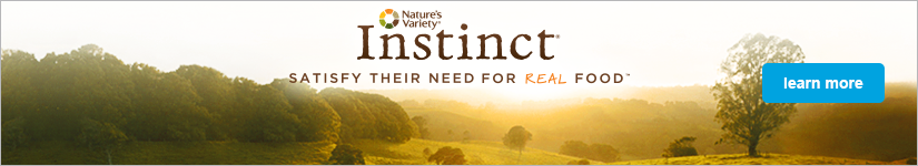 Nature's Variety Instinct - Satisfy their need for real food - learn more