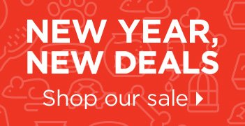 New Year, New Deals - Shop Our Sale