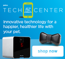 Petco Tech Center - innovative technology for a happier, healthier life with your pet - shop now