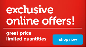 exclusive online offers - limited quantities, great prices - shop now