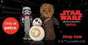 STAR WARS pet fans collecton - shop now