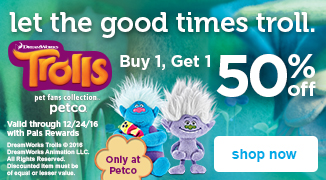 Dreamworks Trolls Pet Fans Collection - Buy 1, Get 1 50% off - shop now