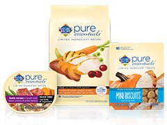 vmnaturesrecipeMS dog product Pure Essentials