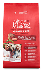 WholeHearted beef & pea - all breeds/adult