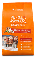 WholeHearted chicken & pea - all breeds/adult