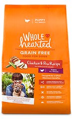 WholeHearted chicken & pea - all breeds/puppy