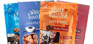 Wholehearted Dog & Cat Treats - Buy 1, Get 1 50%