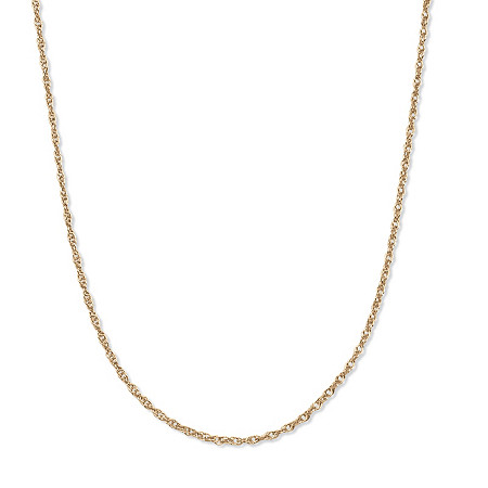Gold Rope Chain in 14k Gold