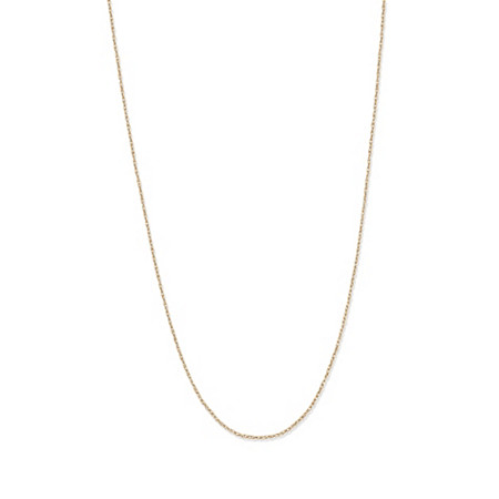 14k Yellow Gold Rope Chain 18
