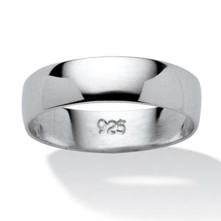 Wedding Band in Sterling Silver