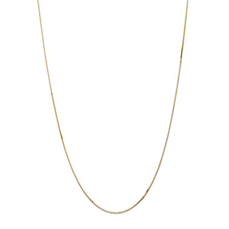 Box Chain in 14k Gold