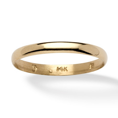 Wedding Ring in 14k Gold