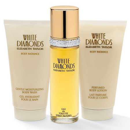 Elizabeth Taylor 3-Piece White Diamonds Fragrance Gift Set