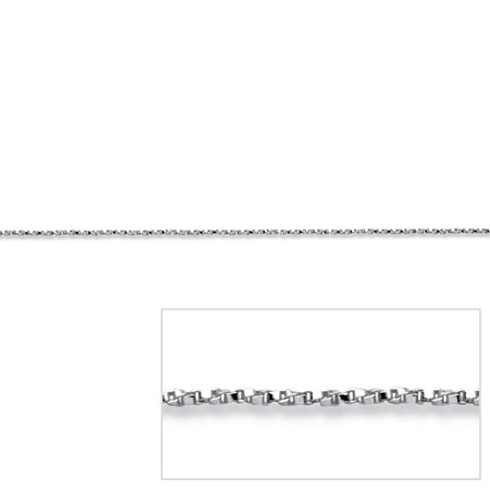 Diamond-Cut Chain in Sterling Silver 24