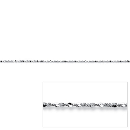 Serpentine-Link Chain in Sterling Silver 18
