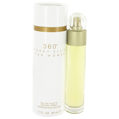perry ellis 360 by Perry Ellis for Women Eau De Toilette Spray 1.7 oz
