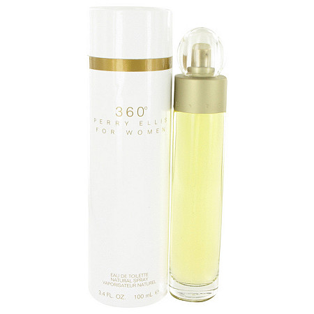 perry ellis 360 by Perry Ellis for Women Eau De Toilette Spray 3.4 oz