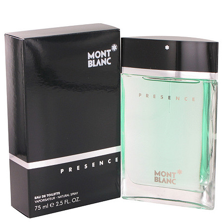Presence by Mont Blanc for Men Eau De Toilette Spray 2.5 oz