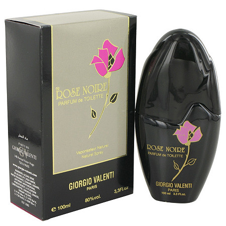 ROSE NOIRE by Giorgio Valente for Women Parfum De Toilette Spray 3.4 oz