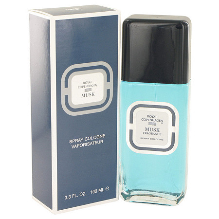 ROYAL COPENHAGEN MUSK by Royal Copenhagen for Men Cologne Spray 3.3 oz