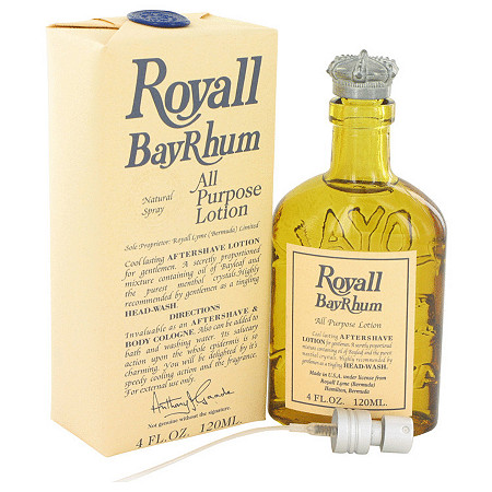 Royall Bay Rhum by Royall Fragrances for Men All Purpose Lotion / Cologne 4 oz