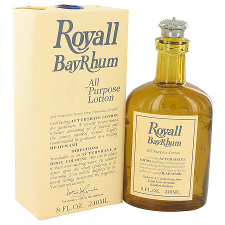 Royall Bay Rhum by Royall Fragrances for Men All Purpose Lotion / Cologne 8 oz