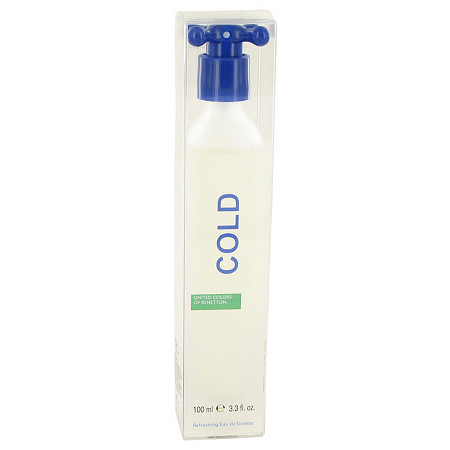 COLD by Benetton for Men Eau De Toilette Spray 3.4 oz