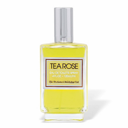TEA ROSE by Perfumers Workshop for Women Eau De Toilette Spray 4 oz