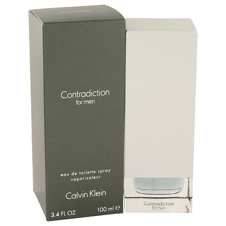 CONTRADICTION by Calvin Klein for Men Eau De Toilette Spray 3.4 oz