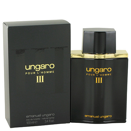 UNGARO III by Ungaro for Men Eau De Toilette Spray 3.4 oz
