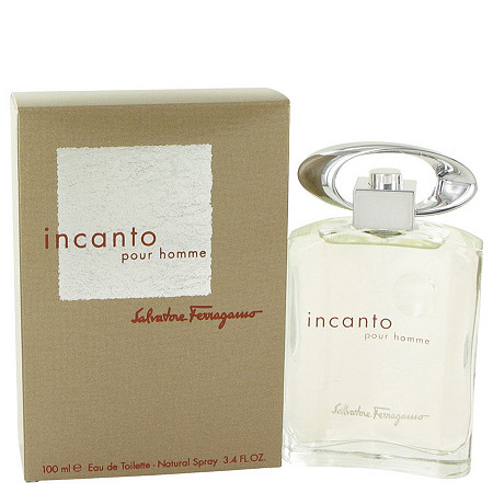 Incanto by Salvatore Ferragamo for Men Eau De Toilette Spray 3.4 oz