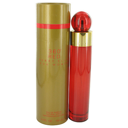 Perry Ellis 360 Red by Perry Ellis for Women Eau De Parfum Spray 3.4 oz
