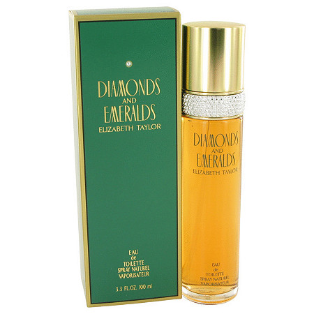 DIAMONDS & EMERALDS by Elizabeth Taylor for Women Eau De Toilette Spray 3.3 oz