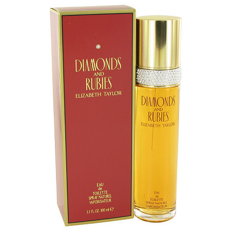 DIAMONDS & RUBIES by Elizabeth Taylor for Women Eau De Toilette Spray 3.4 oz