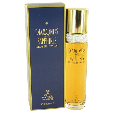 DIAMONDS & SAPHIRES by Elizabeth Taylor for Women Eau De Toilette Spray 3.4 oz