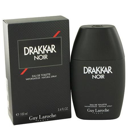 DRAKKAR NOIR by Guy Laroche for Men Eau De Toilette Spray 3.4 oz