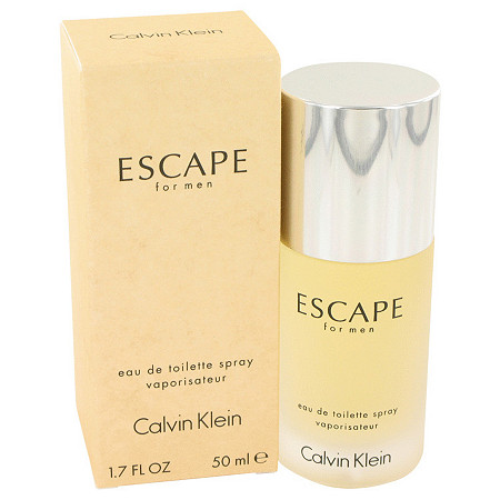 ESCAPE by Calvin Klein for Men Eau De Toilette Spray 1.7 oz