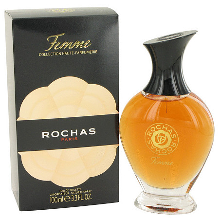FEMME ROCHAS by Rochas for Women Eau De Toilette Spray 3.4 oz